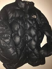 Womens Sz Large  NORTH FACE Black 600 Quilted Down Puffer Jacket