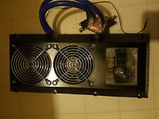 USED KOOLANCE INX-720BK LED WATER COOLER AND WATERBLOCK