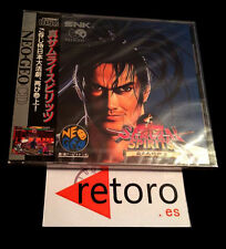 SAMURAI SHODOWN SPIRITS 2 Neo Geo CD Japonés NUEVO Precinto original SEALED NEW