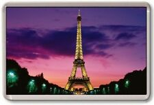 FRIDGE MAGNET - EIFFEL TOWER - Large Jumbo (Purple) France Paris