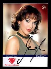 Mariangela Scelsi Verbotene Liebe Autogrammkarte Original Signiert # BC 85060