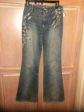 GLORIA JEANS BRAND  BLUE JEAN PANTS   LADIES SIZE 6