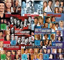 Grey's Anatomy (Greys) Die jungen Ärzte  Die Staffel 1 - 8 / 47 DVD  NEU OVP
