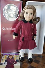AMERICAN GIRL REBECCA w/ BOOK IN BOX (Retired Version) - EUC