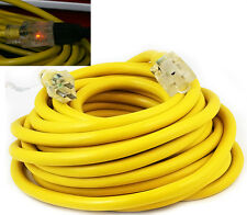 25Ft 10 /3 Gauge industrial power SJTW Pro Glo Electrical Extension Cords cable