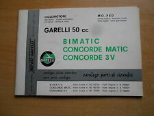 Ersatzteil Katalog Garelli 50 Bimatic Concorde 3V Matic parts pieces catalogue