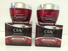 2 Olay Regenerist Micro Sculpting Anti-Aging Cream Moisturizer 1.7oz Exp 12/17