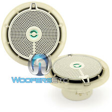 "INFINITY 652M 6.5"" MARINE BOAT AUDIO 2-WAY WATERPROOF PEI TWEETERS SPEAKERS NEW"