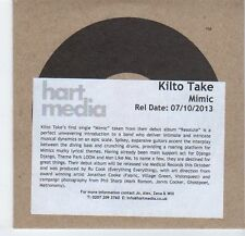 (EA614) Kilto Take, Mimic - 2013 DJ CD