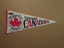 Minor League Baseball Rare Vancouver Canadians Pennant
