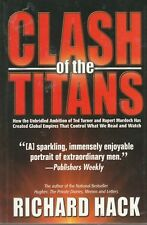 Clash of the Titans Richard Hack Paperback Very Good ted turner