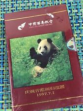 1997 CHINA SOUTHWEST AIRLINES PANDA BEAR SEALED DECK OF PLAYING CARDS ~ RARE