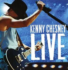 "KENNY CHESNEY ""LIVE"" Audio CD Never Played Sony-BMG 2004 Country Free Shipping!"