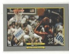 2006-07 TOPPS TURKEY RED BASKETBALL SHAQUILLE O'NEAL CL #252 - MIAMI HEAT