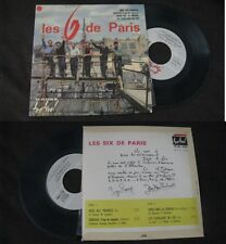 LES SIX DE PARIS - Rose Des Prairies Rare French EP Pop Sixties NM