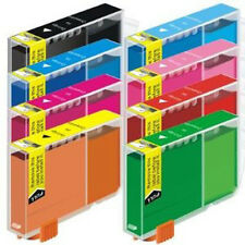 48 Pack New Ink Cartridges w/ Red Green CLI-8 For Canon Pixma Pro9000 Mark II