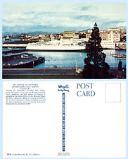 MV Queen Victoria British Columbia Ferry Ship Canada Postcard