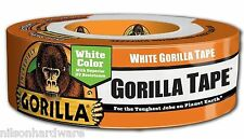 White Gorilla Glue Tape All Weather Duct Outdoor Large Roll 6025001 1.88 X 30YD
