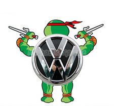 Teenage Mutant Ninja Turtles Raph Reflective Car Sticker Decal Fit VW Toyota etc