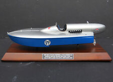 Sir Malcolm Campbell's Bluebird K3 World Water Speed Record Boat Display Model