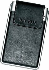 """IcyBox One Touch Back Up Lather Case 2.5"""" IDE Hard Drive Enclosure (Win & Mac)"""