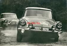 Photo Citroën DS 19 rallye Tour de Corse 1963 Claudine Bouchet Trautmann WRC