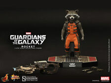 "HOT TOYS Guardians of the Galaxy ROCKET 6"" 1/6 Scale Figure Raccoon Marvel"