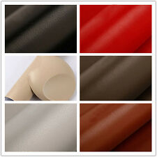 Leather Grain Textured Vinyl Wrap Sticker Decal Sheet Film Car 1.52x0.5m Silver