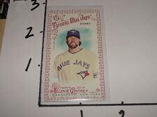 2014 Allen & Ginter R A DICKEY #300 Red Frame SP/33 Toronto BLUE JAYS Volunteers