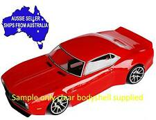 1:10 RC Clear Lexan Body '68 Chevy Camaro 200mm Colt suit Nitro or Electric
