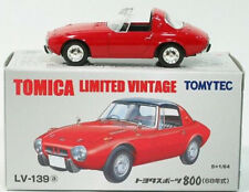 Tomytec Tomy Tomica Limited Vintage Toyota Sports 800 (68 Year) Red LV-139a 1:64
