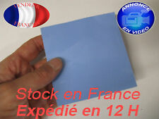 pad thermique / thermal pad 100 mm x 100 mm x 2 mm d'épais /thick