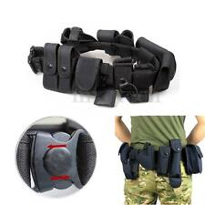Durable Police Guard Security Equipment System Duty Belt Holster Nyon 9 Pouch
