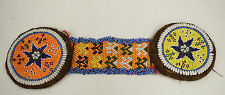 Middle East Yellow Red Blue Beads Clothing Tribal Beaded Gul i Peron