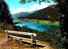 Blick von der Rauna auf Techendorf am Weißensee  , Ansichtskarte
