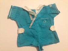 VINTAGE CABBAGE PATCH CPK KIDS BOY DOLL Sailor Overalls  Romper Clothes
