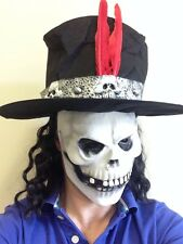 Skull Mask Slash Hat Guns N Roses Fancy Dress Stag Party Masquerade