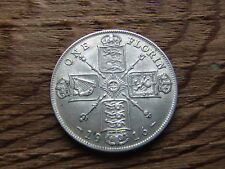 GEORGE V.   1916,  SILVER FLORIN / TWO SHILLINGS.   EXCELLENT CONDITION.