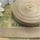 5 Yards 1Inch (25mm)  Width Length Nylon Webbing Strapping Pick Beige MG01