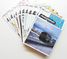 Miniaturbahnen - Miba - Jahrgang 1984 vollständig