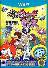 JAPAN Nintendo Wii U WiiU youkai watch Yo-Kai Watch  JUST DANCE