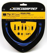 JAGWIRE ROAD PRO Complete Cable Kit Bike Brake Shift Derailleur Housing SID BLUE