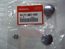 83-86 HONDA V65 MAGNA HANDLEBAR GRIP CHROME END CAPS NEW OEM