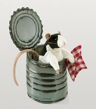 RAT IN A TIN CAN Puppet # 3084 ~NEW for 2016 ~ Free Ship/USA ~ Folkmanis Puppets