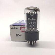 GZ34  5AR4  Mullard  U.K. NOS  Perfect Balanced Half Valve Tubes (GVT1)