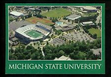Sports Stadium postcard Michigan State University East Lansing, MI football