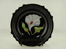 """Made In Occupied Japan - Calla Lily 7"""" Dessert Bowl"""