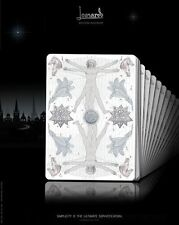 Leonardo Platinum Edition Limited Playing Cards Deck Brand New