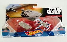 Hotwheels Star Wars Vehicle FIRST ORDER TRANSPORTER & RESISTANCE X-WING FIGHTER