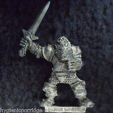1988 Chaos Warrior Sword 10 Games Workshop Warhammer Army Evil Hordes Fighter GW